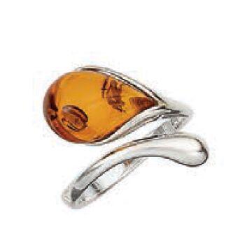 Amber by Vessel Ring, Dorte (Adjustable)