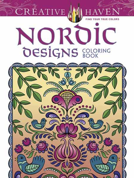 Coloring Book Nordic Designs