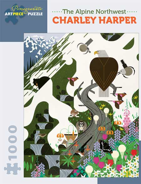 Charley Harper, The Alpine Northwest 1000-Piece Jigsaw Puzzle