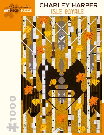Charley Harper, Isle Royale 1,000- Piece Jigsaw Puzzle