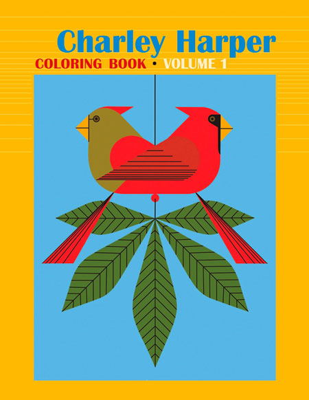 Charley Harper, Coloring Book Volume 1