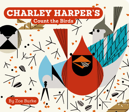 Charley Harper: Count the Birds, Board Book