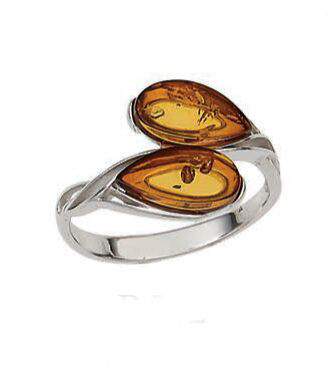 Vessel Ring, Sussi - Cognac (Size: 7)