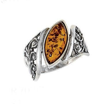 Vessel Ring, Mary Marquise - (Size: 8)