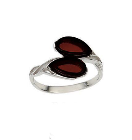 Vessel Ring, Sussi - Cherry (Size: 6)